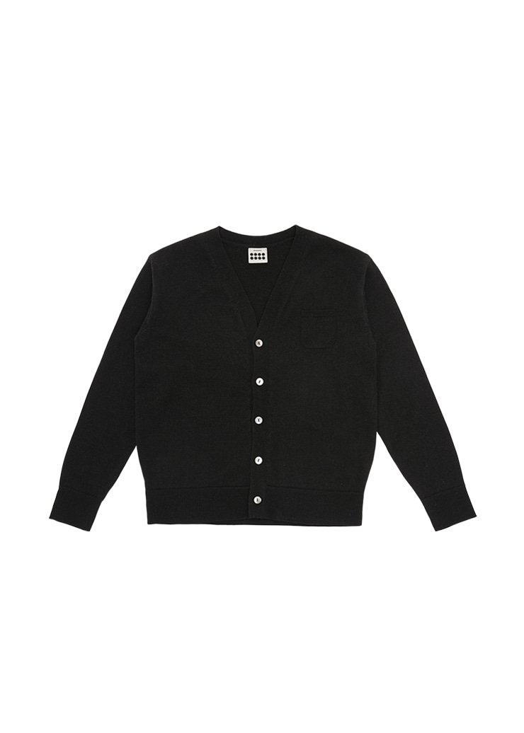 Mild Knit Cardigan_Black