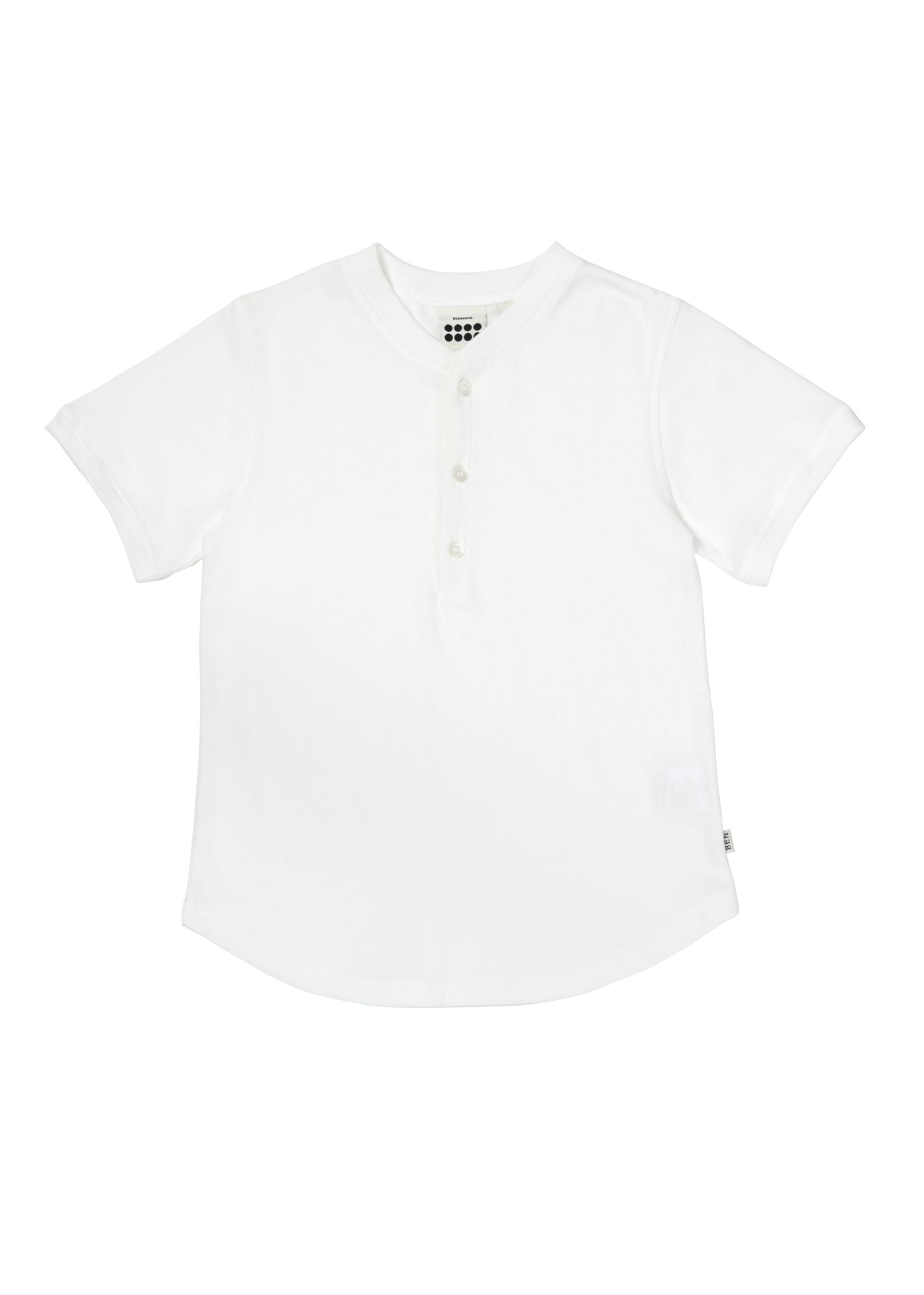 ben Tiny Button T_Ivory