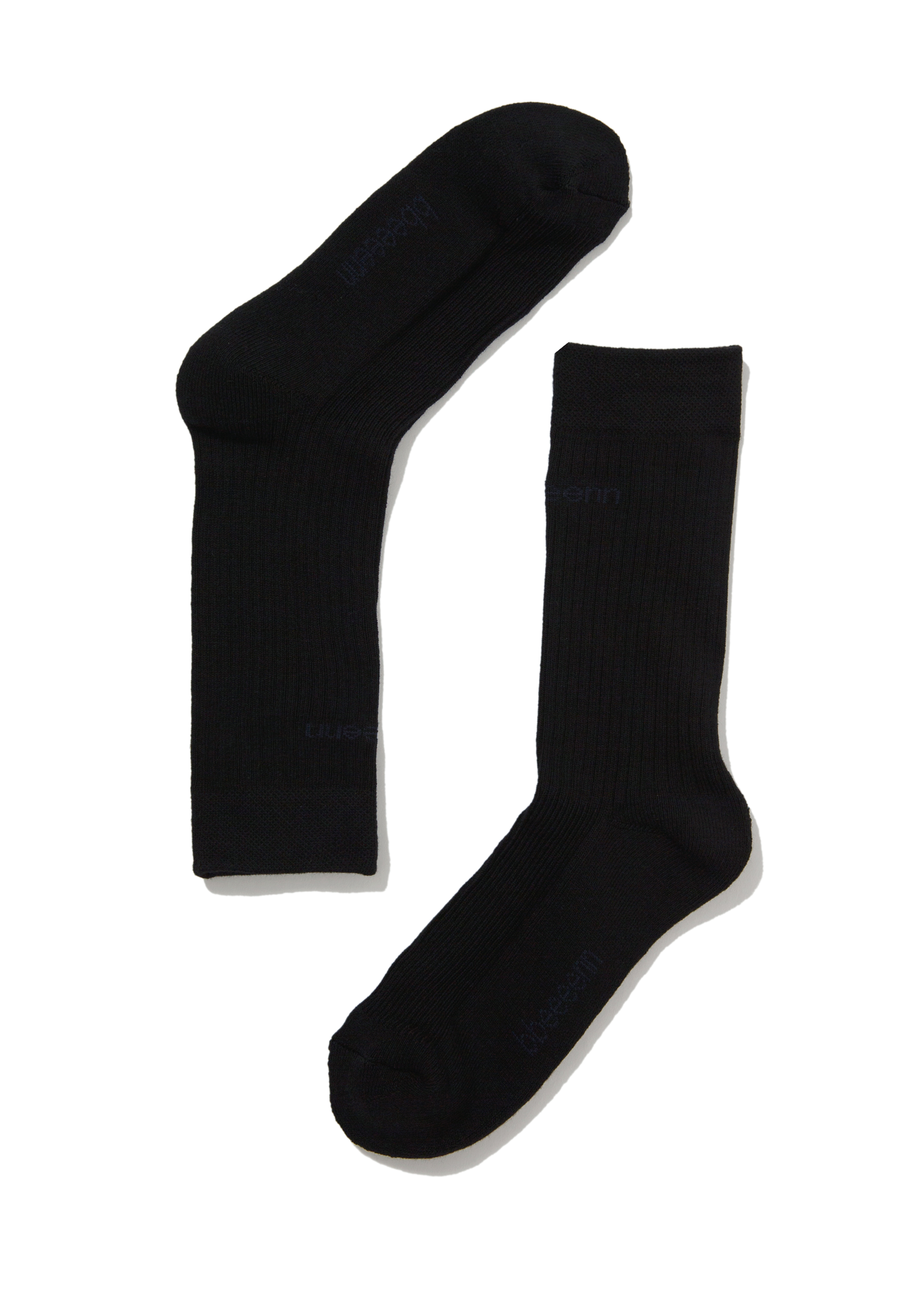 Standard logo Socks Set_Black