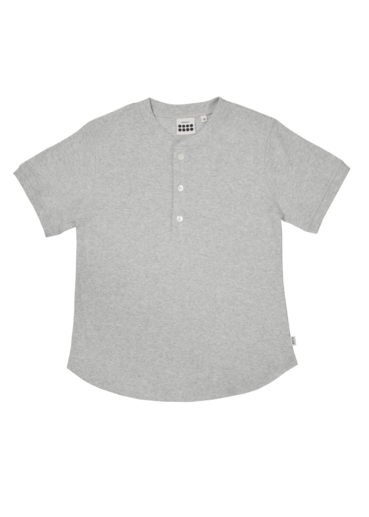 ben Tiny Button T_Gray